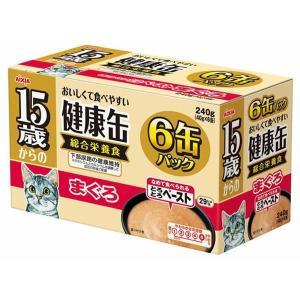 (まとめ)アイシア 15歳からの健康缶 まぐろ40g×6P 〔猫用・フード〕〔ペット用品〕〔×12セット〕|infomart