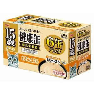 (まとめ)アイシア 15歳からの健康缶ささみとまぐろ40g×6P 〔猫用・フード〕〔ペット用品〕〔×12セット〕|infomart