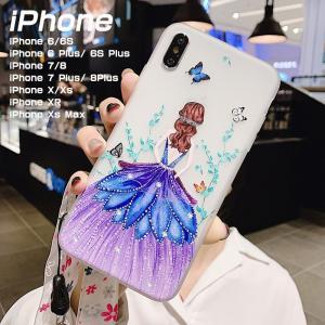 iphone8plus iphone7 plus iphone6 iphone6s iphone 6 plus ケース 背面保護 iphonex XS Max XR iphone x ケース かわいい 女の子 花柄 軽量 薄型 おしゃれ|initial-k