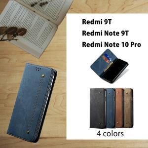 スマホケース Xiaomi Redmi Note 10 Pro手帳型 カード収納 Redmi Note 9T手帳型ケース 全4色 シンプル Redmi Note 10 Pro手帳型ケース 耐衝撃 おしゃれ|initial-k