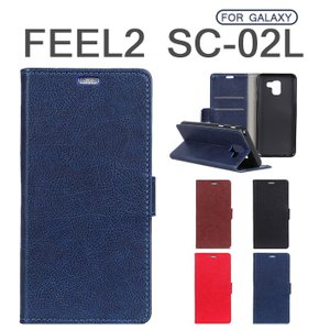 Galaxy Feel2手帳型カバー 全面保護 Feel2手帳型スマホケース 薄型 レザー Galaxy Feel2ソフトケース 軽量 通勤 Galaxy Feel2カバー スタンド機能 人気 おしゃれ initial-k