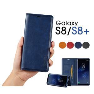 Galaxy S8 SC-02J SCV36ケース Galaxy S8+ SC-03J SCV35ケース Galaxy S8ケース 手帳型 PUレザー Galaxy S8+手帳型カバー 横置き機能 ギャラクシーS8ケース|initial-k
