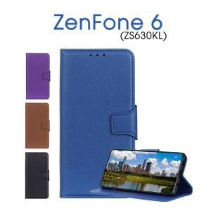 ASUS ZenFone 6対応ケース ZenFone 6 ZS630KL保護ケース 高級感 ZenFone 6 ZS630KLケース レザー 手帳型 ASUS ZenFone 6保護カバー 耐衝撃 全面保護 皮 革|initial-k