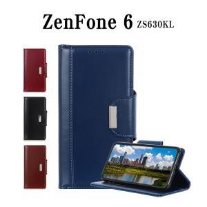 ZenFone 6 ZS630KLスマホケース カード収納 ZenFone 6 ZS630KLケース 手帳型 マグネット式 ZenFone 6 ZS630KL手帳型カバー 二つ折り  ZS630KLスマホケース|initial-k