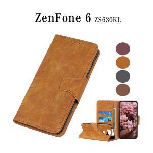 ZenFone 6 (ZS630KL)スマホケース マグネット開閉式 ZenFone 6レザーケース カード収納 ZenFone 6ケース ZS630KLケース ZenFone 6 ZS630KL保護カバー|initial-k