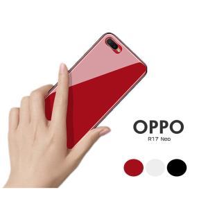 ○対応機種:OPPO R17 Neo ○素材:TPU+強化ガラス ○カラー:レッド/ブラック/ホワイ...