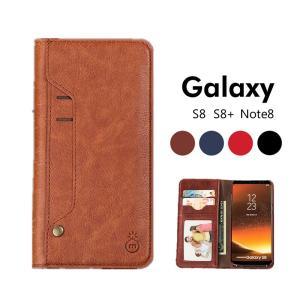 Galaxy S8/S8+/Note8ケース カバー 手帳型 レザー ギャラクシーS10/S10+ ケース ギャラクシー Note8カバー手帳 横開きGalaxy S8手帳型ケース おしゃれ|initial-k