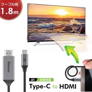 ◎商品名: 4K USB Type-C to HDMI ケーブル ◎素材:アルミニウム合金+ナイロン...