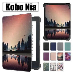 Kobo Nia ケース 手帳型 手帳 革製 楽天 kobo Niaケース2020 kobo Nia カバー 2020 Rakuten Kobo Nia用 電子書籍リーダーケー 薄型 軽量 全面保護 手帳 initial-k