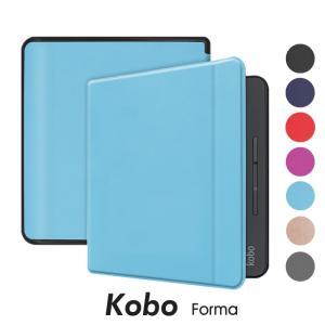 Kobo Forma ケース カバー ブック型 レザー Kobo Forma 高級 PUレザーケースKobo ケース コボ forma カバー 電子書籍 ケース|initial-k