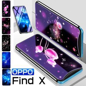 ○対応機種: OPPO Find X ○素材:TPU+強化ガラス ○カラー:カラーA、カラーB、カラ...
