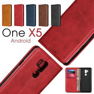 ○対応機種: Android One X5 ○素材:PUレザー+TPU ○カラー:ブラウン/レッド/...