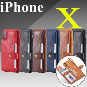 ○対応機種: iPhoneX  ○素材:PUレザー+TPU  ○カラー:ブラック、ブラウン、レッド、...