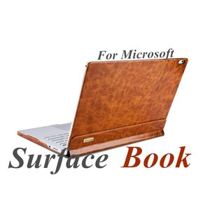 Microsoft Surface Book ケース 分離式 2way Surface Book保護ケース/カバー 牛革Surface Book カバー マグネット脱着  2つ折|initial-k