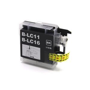 ブラザー 互換 インク LC16BK 単品 大容量 ブラック brother LC16-4PK対応 インクカートリッジ 送料無料|ink-bin
