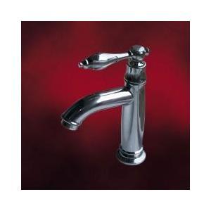 [過去取り扱った商品]単水栓 水栓金具 手洗い用 洗面台用 蛇口 おしゃれ レバー 銀 INK-0302006H|ink-co