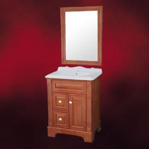 [過去取り扱った商品]洗面台 おしゃれ 木製 鏡付き W660×D480×H900 | 品番INK-0501065H|ink-co