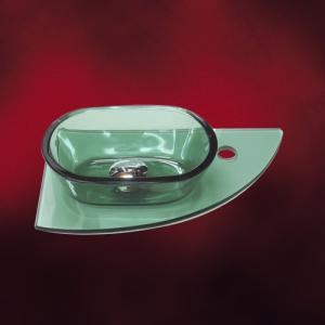 [過去取り扱った商品]小さいガラス洗面化粧台 INK-0502016Hset-o(INK-ano-gr) 楕円タイプ(290mm) 緑・グリーン|ink-co