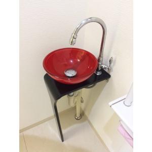 【過去取り扱った商品】洗面台セット おしゃれ 手洗い (台に多少のキズ、へこみあり) W420 【Aセット16】|ink-co