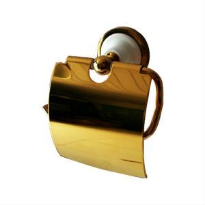 アンティークトイレットペーパーホルダー(紙巻器・サニタリー・ゴールド) INK-08010041H(BEKW70)|ink-co