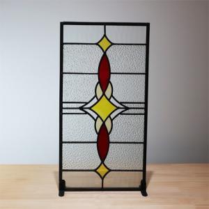 ステンドグラス(アンティーク風・装飾ガラス・シンプル・雑貨・お洒落) INK-1103003H|ink-co