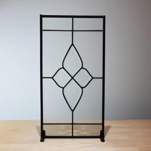 ステンドグラス(アンティーク風・装飾ガラス・シンプル・雑貨・お洒落) INK-1103005H|ink-co