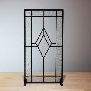 ステンドグラス(アンティーク風・装飾ガラス・シンプル・雑貨・お洒落) INK-1103006H|ink-co