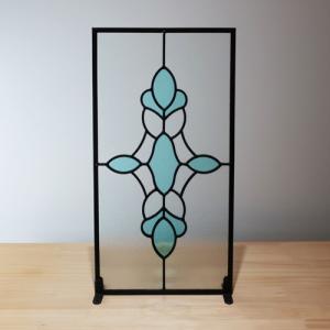 ステンドグラス(アンティーク風・装飾ガラス・シンプル・雑貨・お洒落) INK-1103008H|ink-co