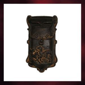 アイアン飾り(アイアン飾り・ポスト風)馬  INK-1401009G|ink-co