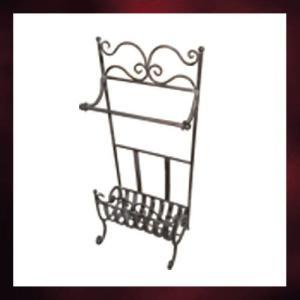 アイアン飾り(アンティーク風・ラック・ハンガーラック)  INK-1401014G|ink-co