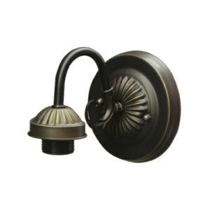 壁付け用灯具(アンティーク風・室内用・アイアン・インテリア照明・ウォールランプ・口金E26) 古金 INK-1401182H|ink-co