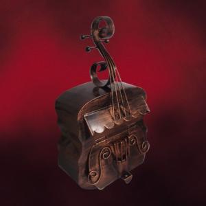 壁付けアンティークポスト (ヴァイオリン型・アンティーク・メールボックス・郵便受け) INK-1501019H|ink-co