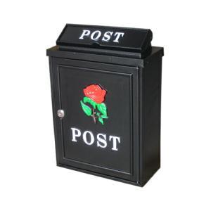 アンティークポスト (アイアンポスト・メールボックス・郵便受け・バラ) INK-1501029H|ink-co
