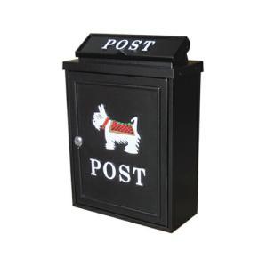 アンティークポスト (アイアンポスト・メールボックス・郵便受け・犬) INK-1501030H|ink-co