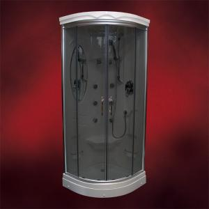 【受注生産品】ガラスシャワーブース(シャワールーム・シャワーユニット) INK-949Aブラック|ink-co