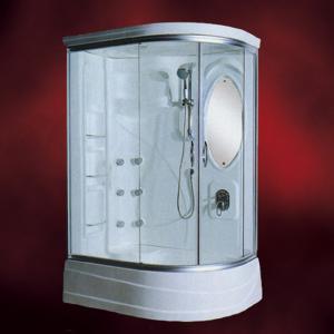 ガラスシャワーブースFRP素材(節水タイプシャワーヘッド・シャワールーム・シャワーユニット) INK-949DR|ink-co