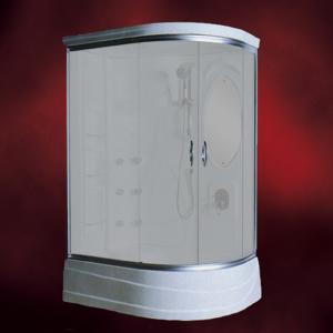【受注生産品】ガラスシャワーブース(シャワールーム・シャワーユニット) INK-949DRスモーク(スリガラス)|ink-co