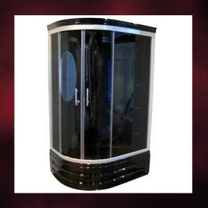 -在庫限りセール-ガラスシャワーブースブラック(シャワールーム・シャワーユニット・ボディシャワー有)INK-BK949D-BK|ink-co