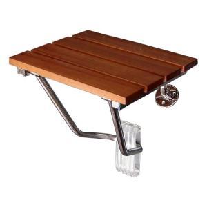 壁付けイスウッド(簡易椅子・玄関ベンチ・コンパクト・収納タイプ)k-isu-wood|ink-co