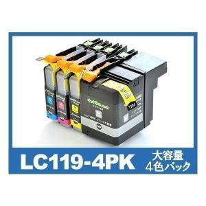 LC119-4PK 4色パック大容量 プリンターインク ブラザー(brother) 互換インクカートリッジ {LC119/LC115-4PK}