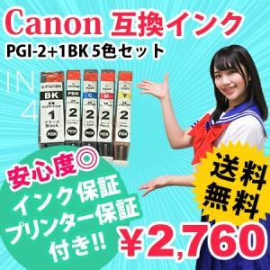 PGI-2+1BK 5色セット 互換インク キャノン あすつく PIXUS-MX7600 PIXUS-iX7000 対応|ink48