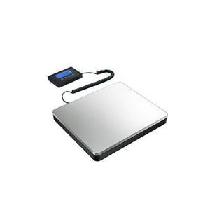 隔測式 デジタル台はかり 電子秤 デジタルはかり LCDディスプレイ 時計機能 ホールド機能 風袋機能 最大180kgまで計量可能0.05kg単位 inkgekiyasu