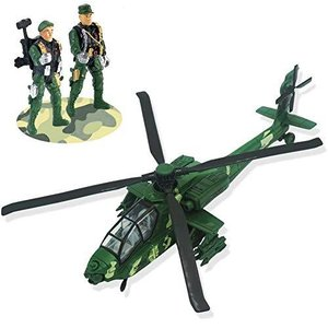 CORPER TOYS ヘリコプター 飛行機 ヘリコプターおもちゃ LEDライト付き 自衛隊コレクション 合金&プラスチック製 迷彩 inkgekiyasu