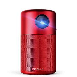 Anker Nebula Capsule (Android搭載モバイルプロジェクター)【100ANSI ルーメン / DLP搭載 / 360°スピーカ|inkgekiyasu