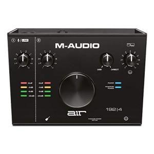 M-Audio USB USB-C オーディオインターフェース 2イン 2アウト再生 低ノイズ ハイレゾ音源 音楽制作ソフト付 AIR 192 4 inkgekiyasu