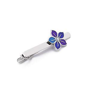 ラペルタイクリップ、ネクタイクリップエナメル花の形の宝石の贈り物 inkgekiyasu