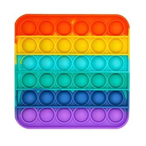 Disuozn スクイーズ玩具 プッシュポップ フィジェットおもちゃ プッシュポップポップ バブル感覚 減圧グッズ ストレス解消 インテリジェンス発展|inkgekiyasu