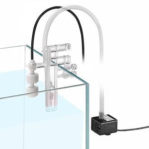 水槽水位コントローラ、スマートATOシステム、ポンプ付きセンサー液面フロートスイッチ、水族館自動給水装置|inkgekiyasu