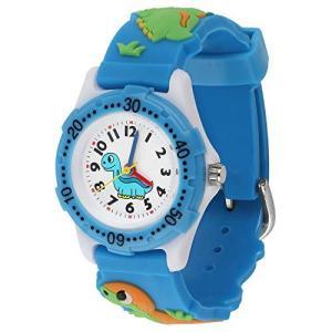 キッズ腕時計 恐竜 時計 ボーイズ ウォッチ 日本製クオーツ アナログ 子供用 時計 30M防水 男の子 女の子 腕時計 誕生日 クリスマスプレゼント inkgekiyasu