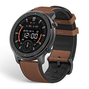 Amazfit GTR スマートウォッチ 腕時計 歩数計 着信通知 12日間の連続使用 高精細 AMOLEDディスプレイ 5ATM防水 12種類運動モ|inkgekiyasu